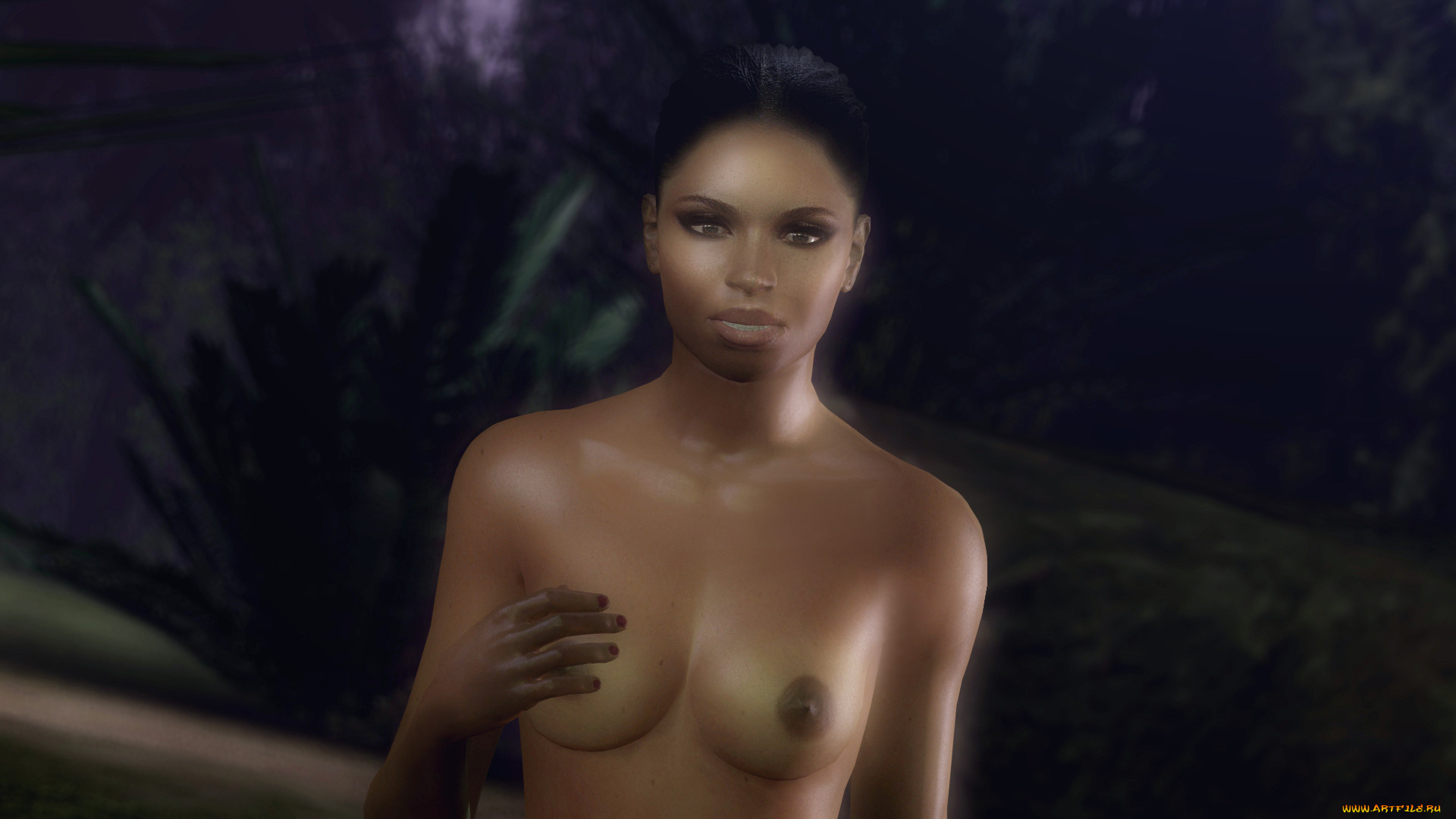 Rochelle off of left for dead naked  pron photo